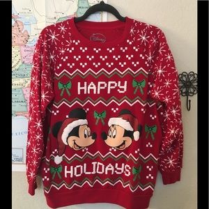 Disney Mickey and Minnie Mouse sweatshirt